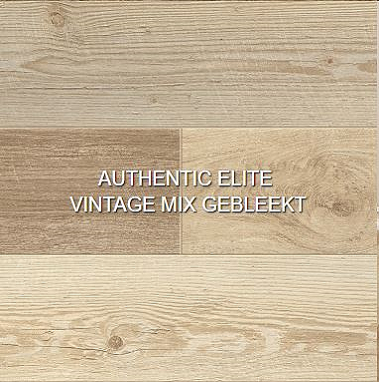 Authentic elite vintage mix gebleekt