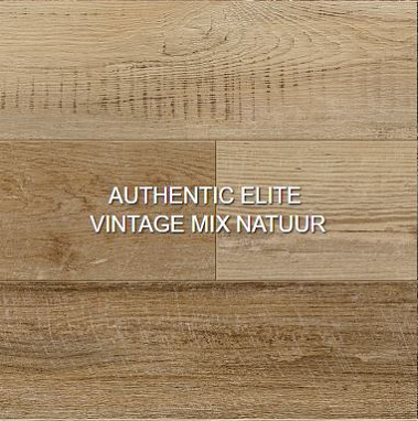 Authentic elite vintage mix natuur