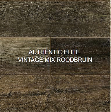 Authentic elite vintage mix roodbruin JPG